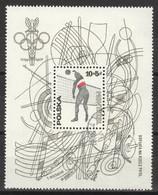 Polen Block 65 O Olympia Montreal 1976 - Blocks & Sheetlets & Panes