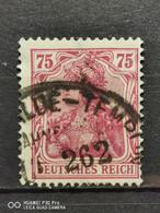 Deutsche Reich Mi-Nr. 197 A Gestempelt Geprüft - Gebraucht
