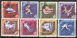 Rumänien 2195/2202 O Olympia Innsbruck - Used Stamps