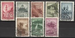 Ungarn 963/70 O Sehenswürdigkeiten - Usado