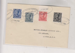 YUGOSLAVIA EXILE 1943 Set Nice Cover - Lettres & Documents