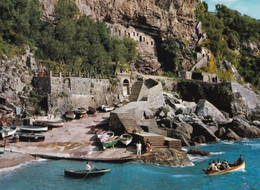 Praiano- Vettica - Scogliera Della Cavitella - Formato Grande Non Viaggiata – FE190 - Salerno