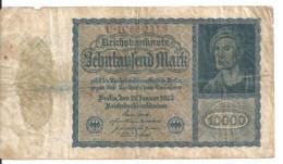 ALLEMAGNE 10000 MARK 1922 VF P 72 - 10.000 Mark