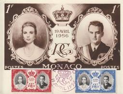 Mariage Du Prince RAINIER Et De Grace Kelly. 19 Avril 1956. Voir Description - Royal Families