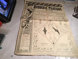 La  Broderie Pratique. De Lyon Journal De Broderie Lingerie En L état 1933 - Andere