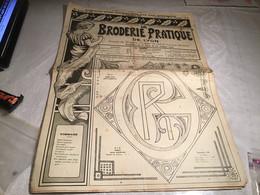 La  Broderie Pratique. De Lyon Journal De Broderie Lingerie En L état 1935 - Andere