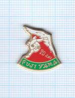 Pin's Fuji Yama 20 Ans Club De Judo Et Arts Martiaux Rillieux La Pape – 69 Rhône - Judo