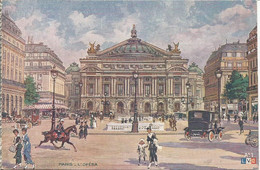 PARIS - L'OPERA. (scan Verso) - Other Monuments