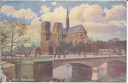 PARIS - Notre-Dame. (scan Verso) - Notre Dame De Paris
