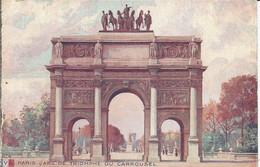 PARIS  -  L'ARC DE TRIOMPHE DU CAROUSSEL. (scan Verso) - Other Monuments