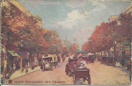 PARIS  -  BOULEVARD DES ITALIENS. (scan Verso) - Other