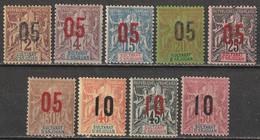 Anjouan N° 20 - 28 * - Unused Stamps