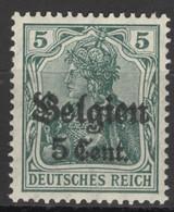 Landespost In Belgien 12 ** Postfrisch - Occupation 1914-18