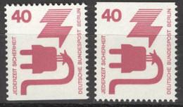 Berlin 407C+D ** Postfrisch - Unused Stamps