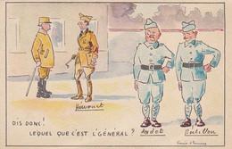 AK Lequel Que C'est L'Général - Humor - Franz. Soldaten - Ca. 1920 (55027) - Humorísticas
