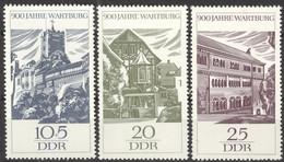 DDR 1233/35 ** Postfrisch - Unused Stamps