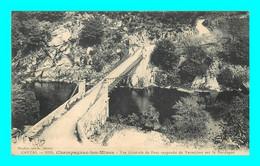 A928 / 351 15 - CHAMPAGNAC Les MINES Vue Generale Du Pont Suspendu De Vernejoux - Unclassified