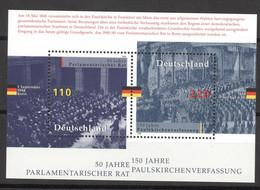 BRD Block 43 ** Postfrisch - Blocchi
