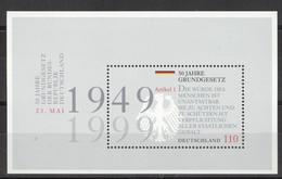 BRD Block 48 ** Postfrisch - Blocchi