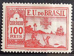 C 1 Brazil Stamp Centenary Of The Discovery Of Brazil History Ship Portugal 1900 2 - Unused Stamps