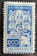 C 9 Brazil Stamp Pan American Jose Bonifacio Washington San Martin Hidalgo Bolivar 1909 9 - Unused Stamps