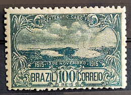 C 10 Brazil Stamp Tricentenary Cabo Frio 1915 7 - Unused Stamps