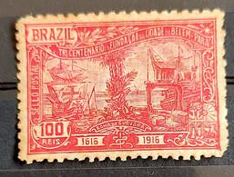 C 11 Brazil Stamp Tricentenary Belem Para Ship Port Transport 1916 7 - Unused Stamps