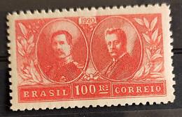 C 13 Brazil Stamp Visit Of King Alberto Belgium Epitassio Pessoa Diplomatic Relations 1920 4 - Unused Stamps