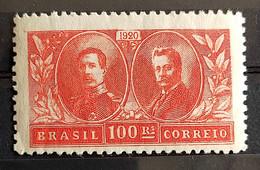 C 13 Brazil Stamp Visit Of King Alberto Belgium Epitassio Pessoa Diplomatic Relations 1920 9 - Unused Stamps