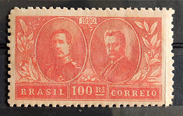 C 13 Brazil Stamp Visit Of King Alberto Belgium Epitassio Pessoa Diplomatic Relations 1920 10 - Unused Stamps