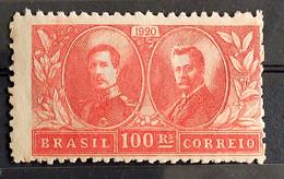 C 13 Brazil Stamp Visit Of King Alberto Belgium Epitassio Pessoa Diplomatic Relations 1920 11 - Unused Stamps