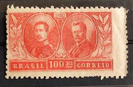 C 13 Brazil Stamp Visit Of King Alberto Belgium Epitassio Pessoa Diplomatic Relations 1920 12 - Unused Stamps
