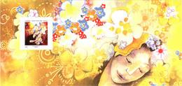 Bloc-souvenir YT BS90 Les Petits Bonheurs TBE Neuf ** Sous Blister Ouvert Avec Son Encart Illustré - Souvenir Blocks & Sheetlets