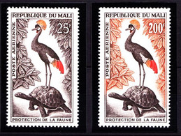 Mali Vögel Birds Tiere Animals Wildlife Set 75-76 ** (9101 - Otros