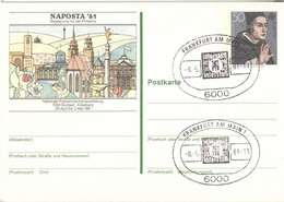 BRD Ganzsache PSo8 O - Postkarten - Gebraucht