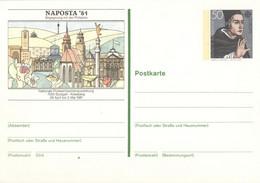 BRD Ganzsache PSo 6 * - Postkarten - Ungebraucht