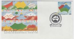 Australia PM 1851  1993 Launch Collins Class Submarine, Souvenir Cover - Postmark Collection