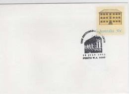 Australia PM 1854  1993 The Restired GPO Perth, Souvenir Cover - Bolli E Annullamenti