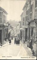 Briey  Grand Rue  CPA 1906 - Briey