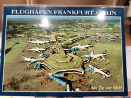 FLUGHAFEN AIRPORT AÉRODROME FRANKFURT - Aerodromi