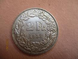 Suisse; 2 Francs 1953 - Suisse