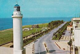 Greece - Postcard Unused  - Alexandroupoli  - Sea Shore, With Lighthouse - Grecia
