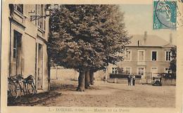 60 - Oise - BORNEL -Mairie Et La Poste - Postes - Vélo Vélos Facteurs Facteur - Autres Communes