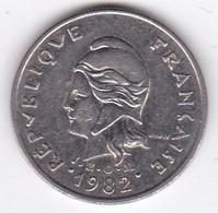 Polynésie Française. 10 Francs 1982 En Nickel - French Polynesia