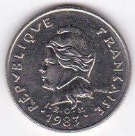Polynésie Française. 10 Francs 1983 En Nickel - French Polynesia