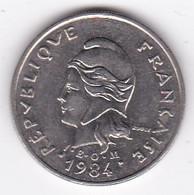 Polynésie Française. 10 Francs 1984 En Nickel - French Polynesia