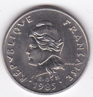 Polynésie Française. 10 Francs 1985 En Nickel - French Polynesia