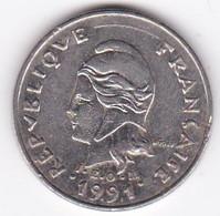 Polynésie Française. 10 Francs 1991 En Nickel - French Polynesia