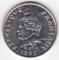 Polynésie Française. 10 Francs 1992 En Nickel - French Polynesia