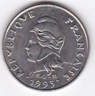 Polynésie Française. 10 Francs 1995 En Nickel - French Polynesia
